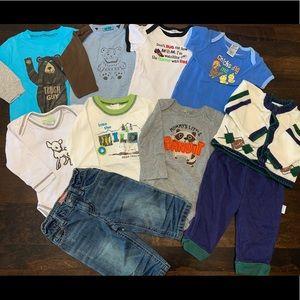 Baby Bot Clothing Lot 6-9M